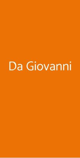 Da Giovanni, Vico Equense