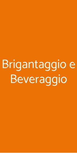 Brigantaggio E Beveraggio, Napoli