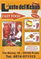 Gusto Del Kebab, Prato