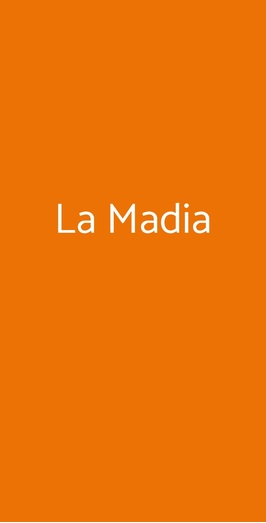La Madia, Licata