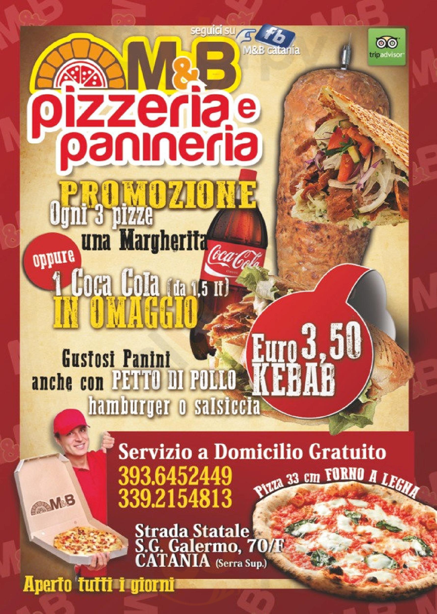M&B Pizzeria Panineria