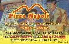 Pizza Napoli, Prato
