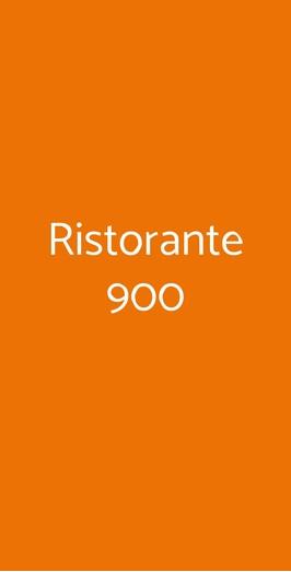 Ristorante 900, Caltanissetta