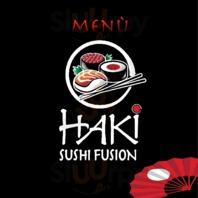Menu Haki Sushi Fusion