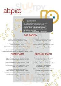 Menu Atipico Ristorante & Bottega