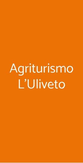 Agriturismo L'uliveto, Reitano