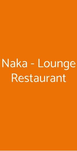 Naka - Lounge Restaurant, Cefalù