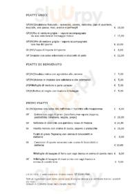 Menu NaturaSì Cucina biologica Catania