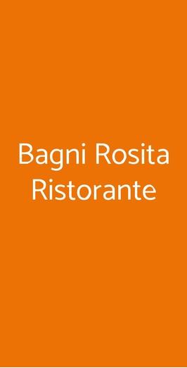Bagni Rosita Ristorante, Piano di Sorrento