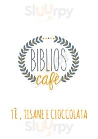 Menu Biblios Cafe