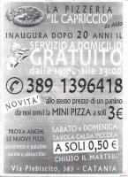 Il Capriccio, Catania