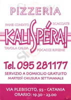 Kalispera, Catania