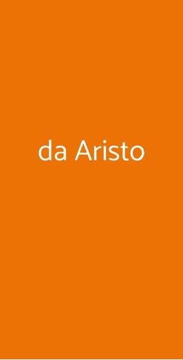Da Aristo, Barga