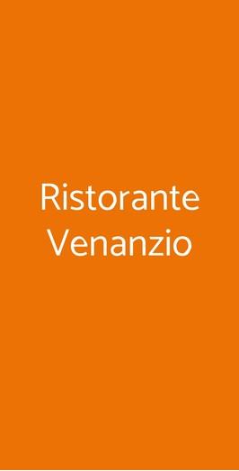 Ristorante Venanzio, Carrara