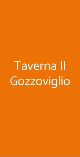 Taverna Il Gozzoviglio, Cortona