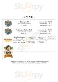 Foto del menù di Napoleon Birroteca - Birreria, Beershop, Paninoteca