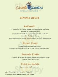 Menu Casetta Santini Restorante Agriturismo