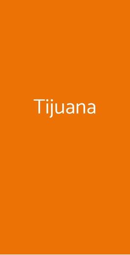 Menu Tijuana