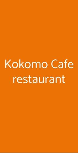 Kokomo Cafe Restaurant, Massa