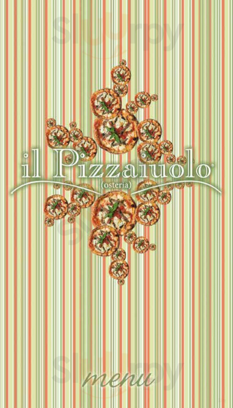 Il Pizzaiuolo Firenze menù 1 pagina