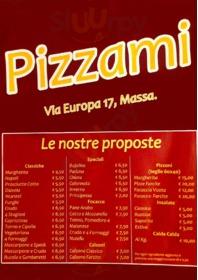 Menu Pizzami