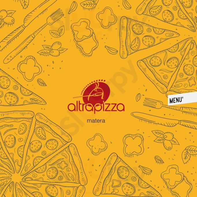 Menu Altrapizza
