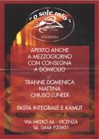 O Sole Mio, Vicenza