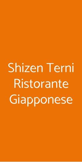 Shizen, Terni