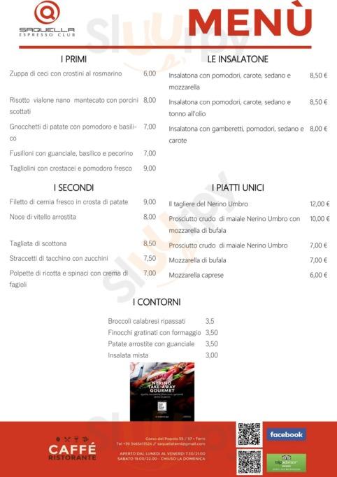 Saquella Espresso Club Terni, Terni