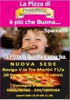 Menu PRONTO PIZZA