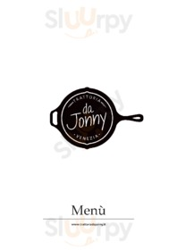 Menu Trattoria da Jonny