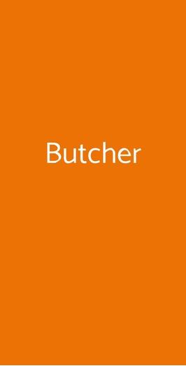 Menu Butcher