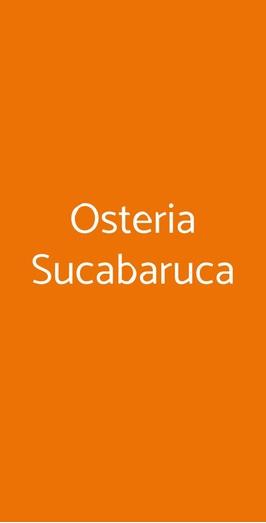 Osteria Sucabaruca, Padova