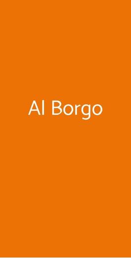 Al Borgo, Monterosso Almo