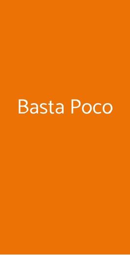 Basta Poco, Bologna