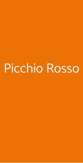 Picchio Rosso, Pianillo