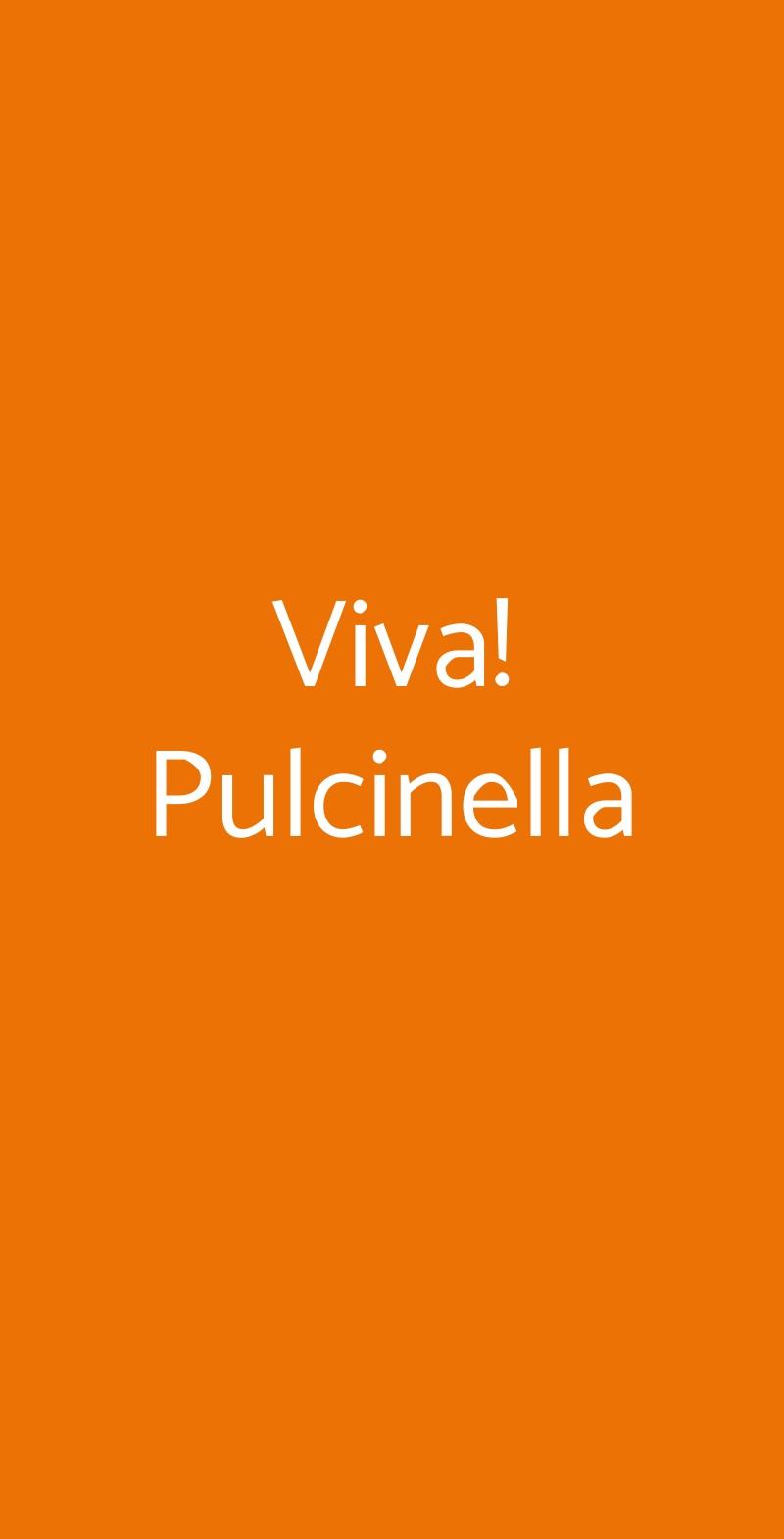 Viva! Pulcinella Avellino menù 1 pagina