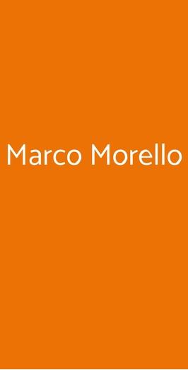 Marco Morello, Leni