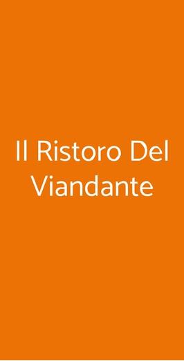 Il Ristoro Del Viandante, Caulonia