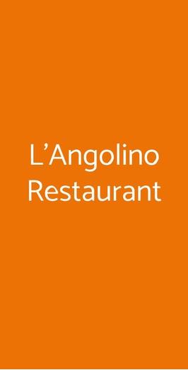 L'angolino Restaurant, Porto Recanati
