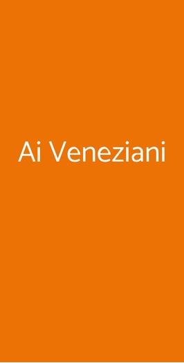 Menu Ai Veneziani