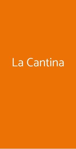 Menu La Cantina