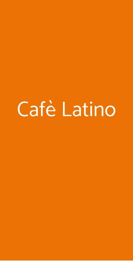 Cafè Latino, Sorrento