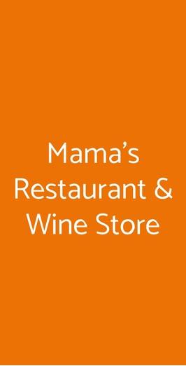 Mama's Restaurant & Wine Store, Feriolo di Baveno