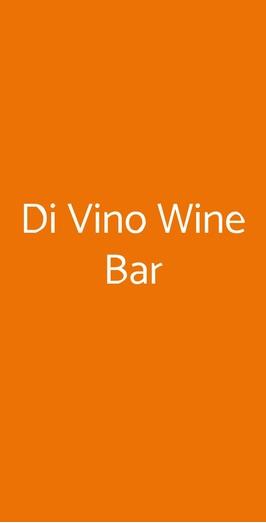 Di Vino Wine Bar, Barano D'Ischia