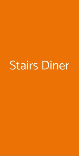 Stairs Diner, Napoli