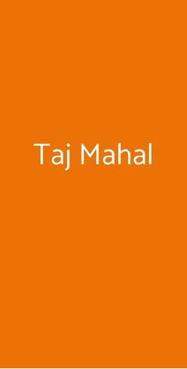 Taj Mahal, Chiavari
