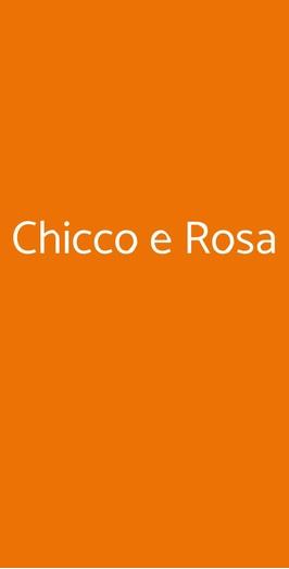 Chicco E Rosa, Sanremo