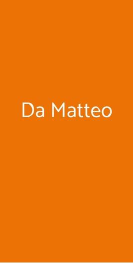 Da Matteo, Marina di Ravenna
