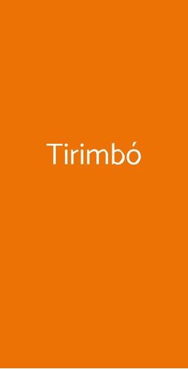 Tirimbó, Piano Di Sorrento